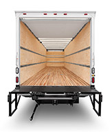 Dry Freight - Plywood Liner w/ Load Locking Bars