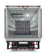 Refrigerated - E-Track w/ Strip Curtains And Bulkhead