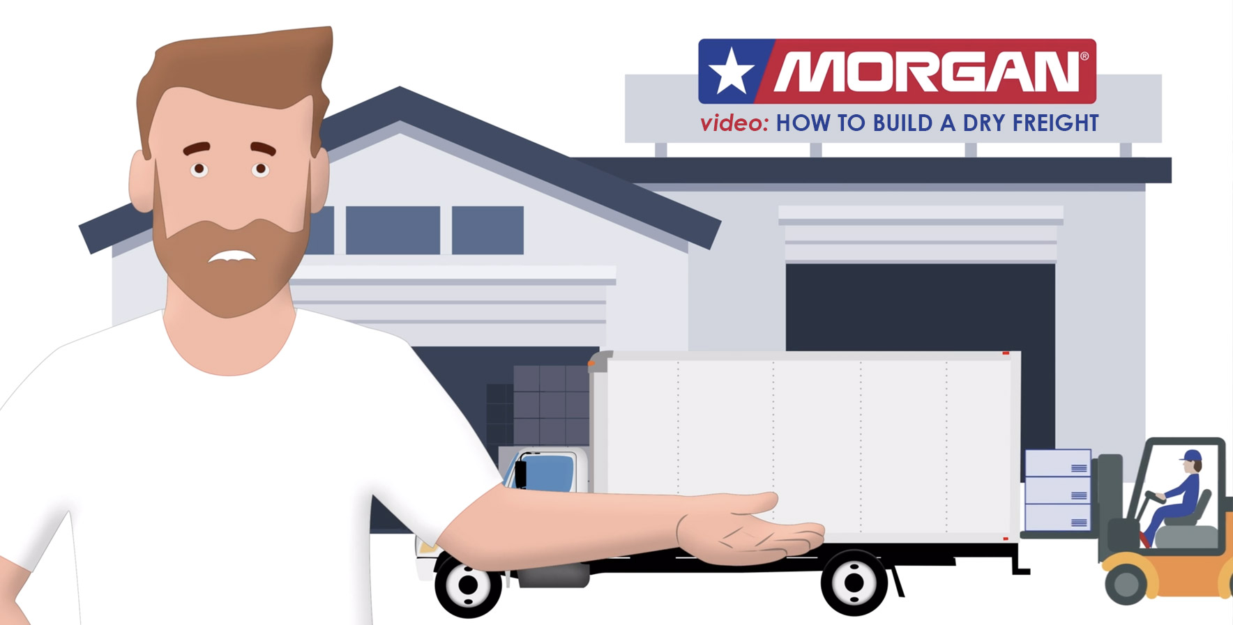 How to build a dry freight truck body