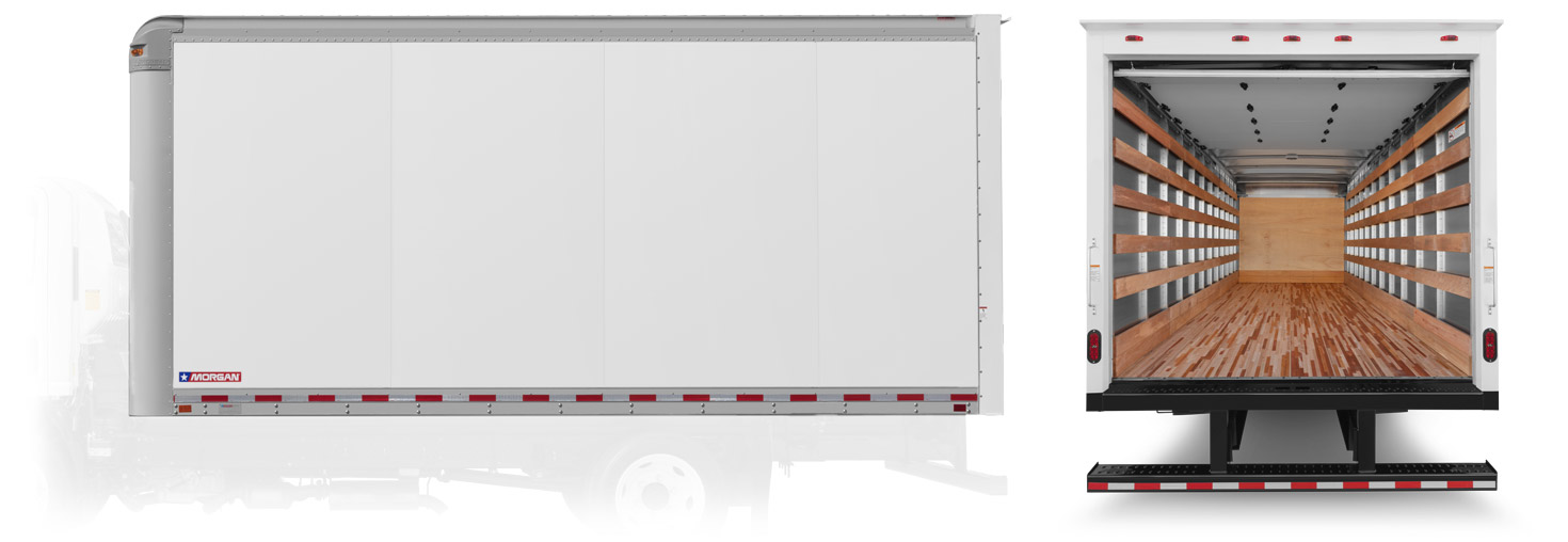 Morgan Dry Freight Smooth Wall Aluminum wall construction