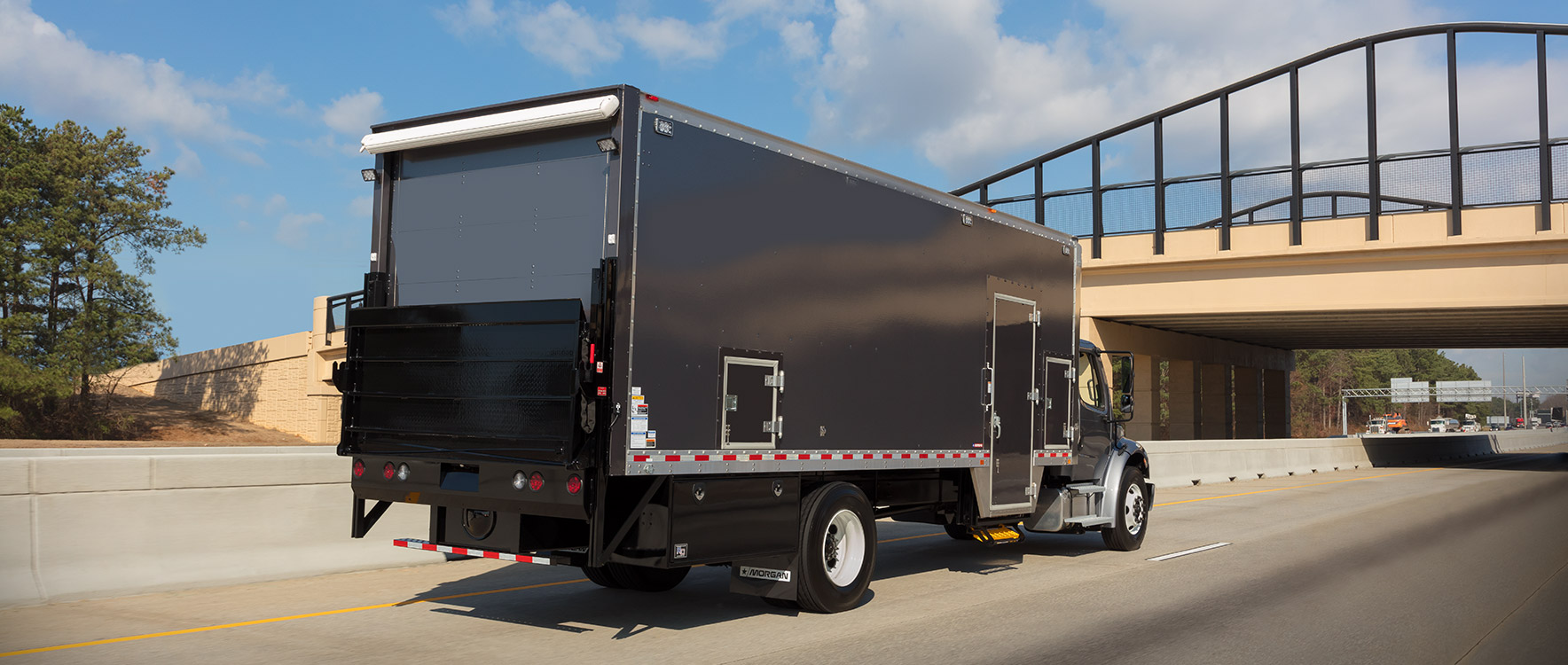 Morgan Dry Freight Mobile Service Unitdriving to a mobile service location