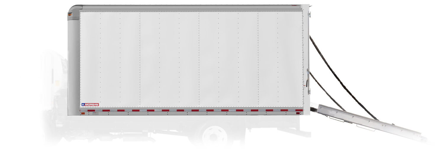 Morgan Dry Freight aluminum wall construction