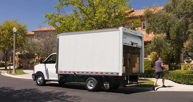 Dry Freight CityMax Home Delivery Truck