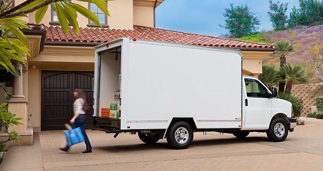 Dry Freight Mini-Mover Home Delivery Truck