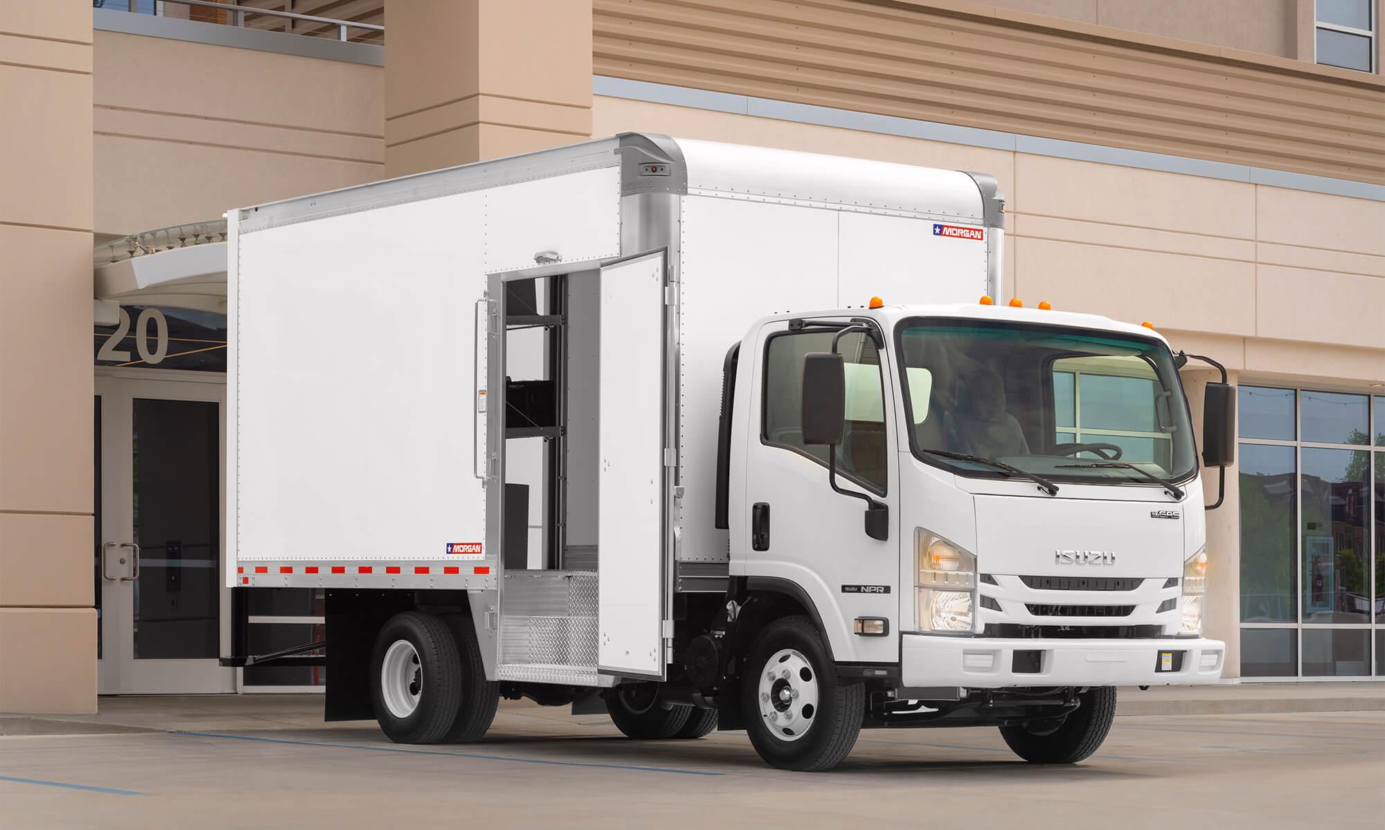 Morgan Corporation Home Delivery Truck Concept