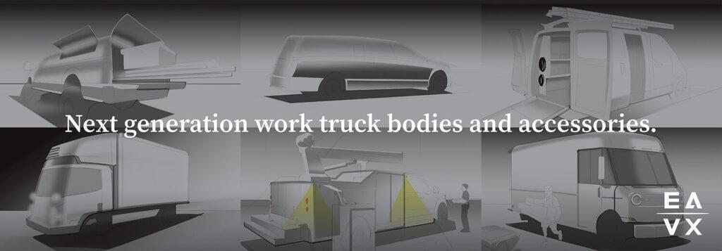 EAVX next generation work truck bodies and accessories